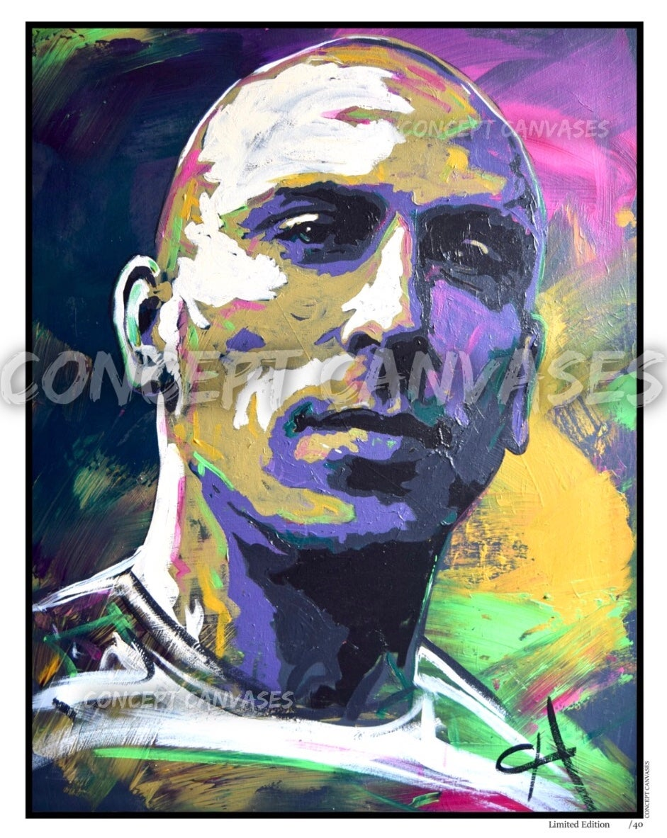 Image of Scott Brown 'Broony' Limited Edition /40 A3 Print