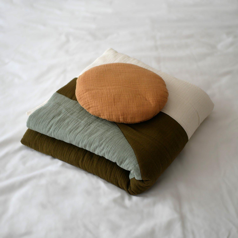 Image of Boutis SUNSET vert / Blanket