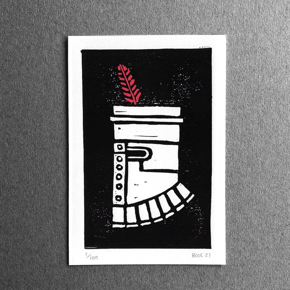 Solaire - Lino Print