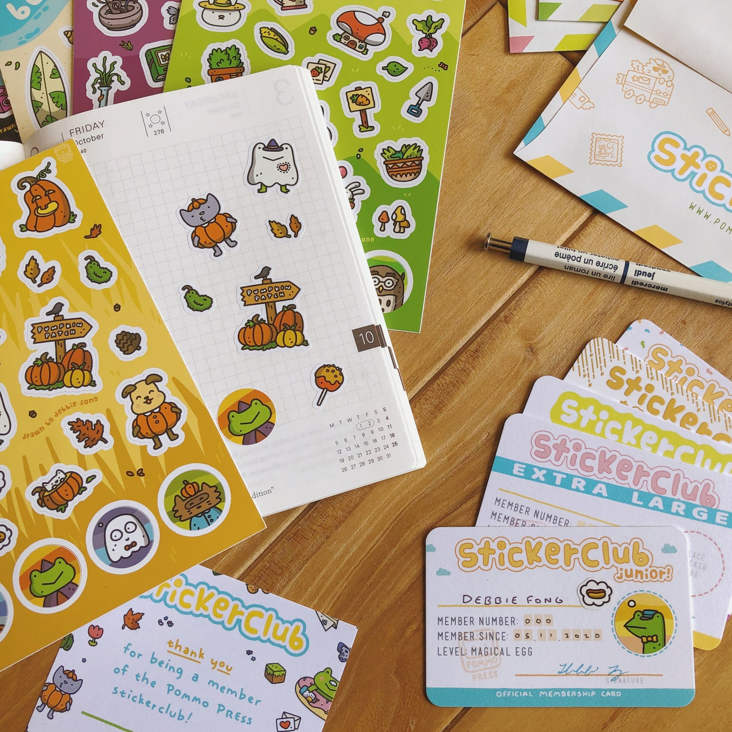 Image of STICKERCLUB SUBSCRIPTION BUNDLE