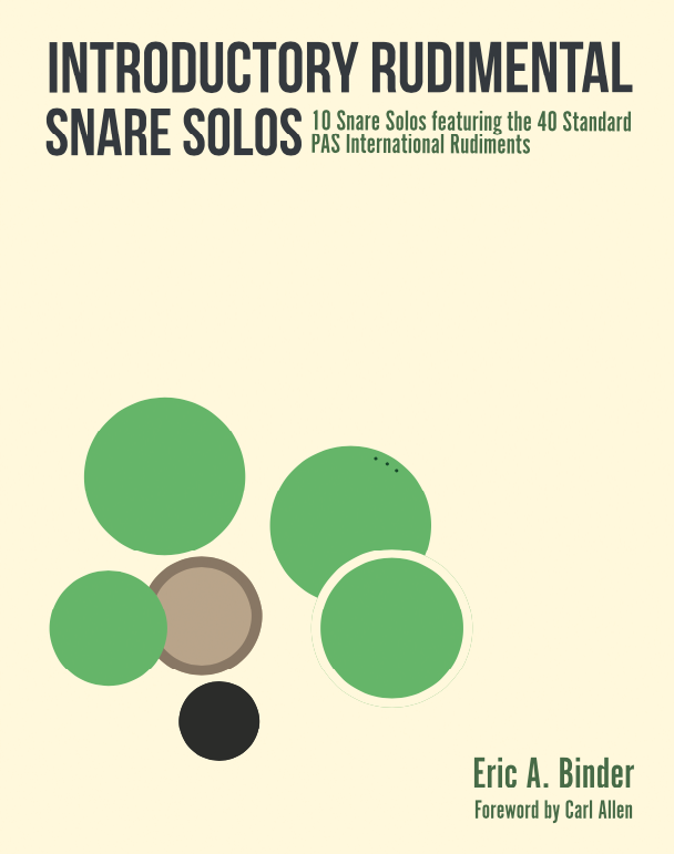 Image of PRE-ORDER Introductory Rudimental Snare Solos- PDF