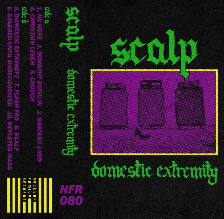 "Image of NFR080 - Scalp ""Domestic Extremity"" Cassette"