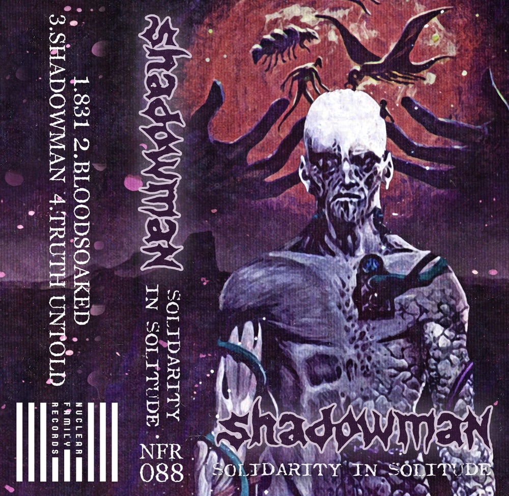 """Image of NFR088 - Shadowman """"Solidarity in Solitude"""" Cassette"""