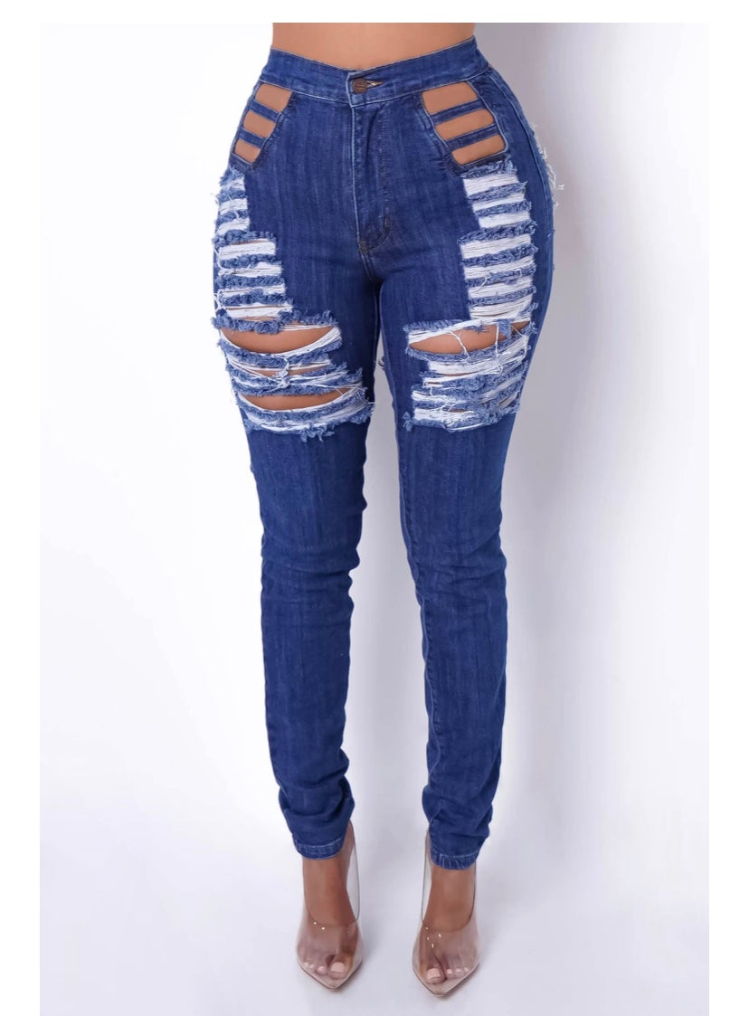 Image of MehGan (Distressed Jeans)