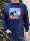40th Anniversary Unisex Crew Neck Long-Sleeve T-Shirt