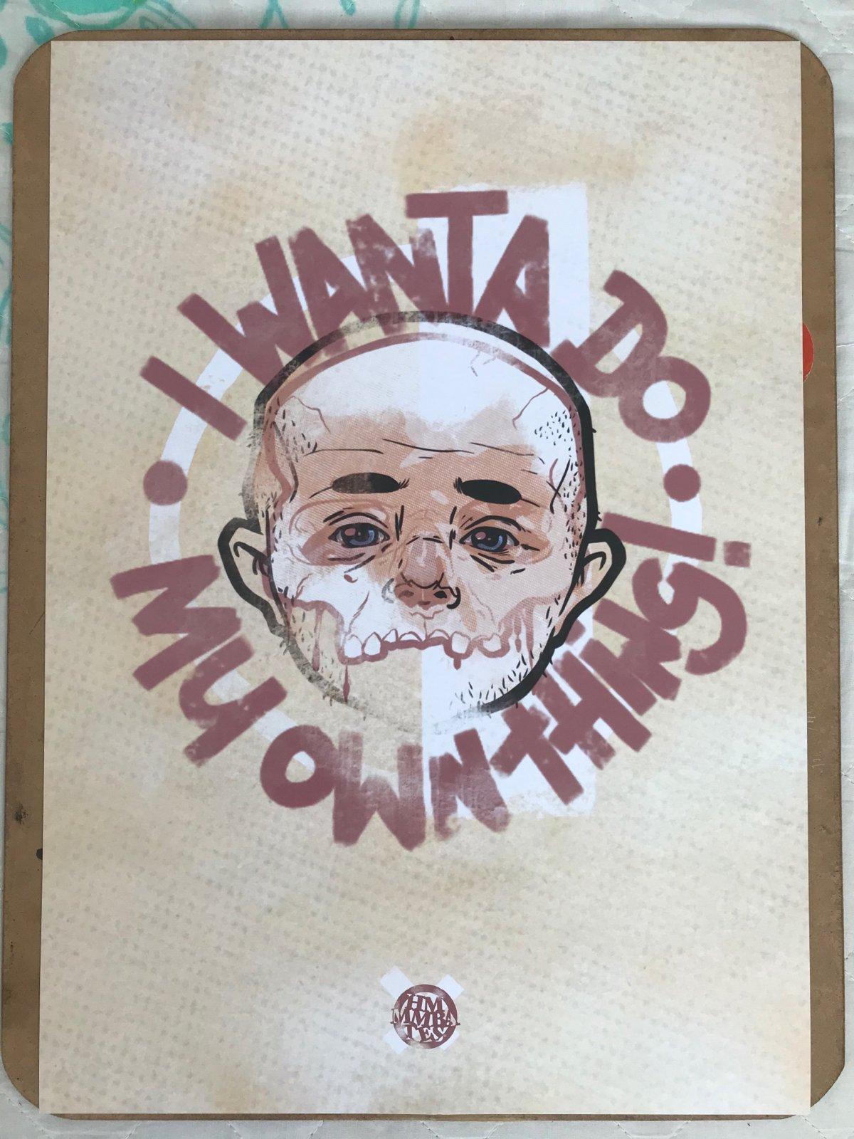 Image of Hmmmbates boy skull print!!