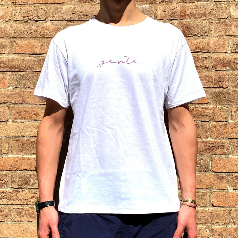 Image of GENTE - TSHIRT / white