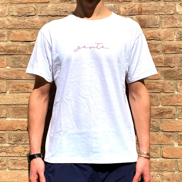Image of GENTE - TSHIRT / white