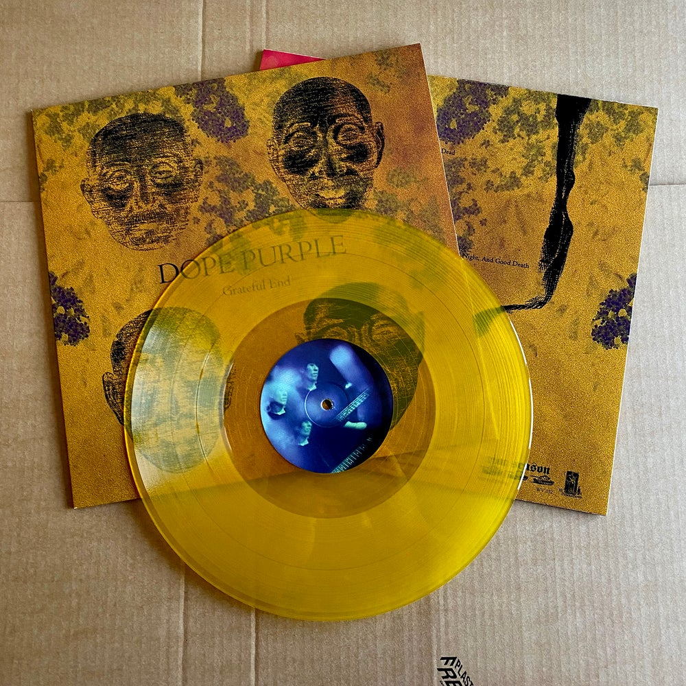 DOPE PURPLE 'Grateful End' Yellow Vinyl LP