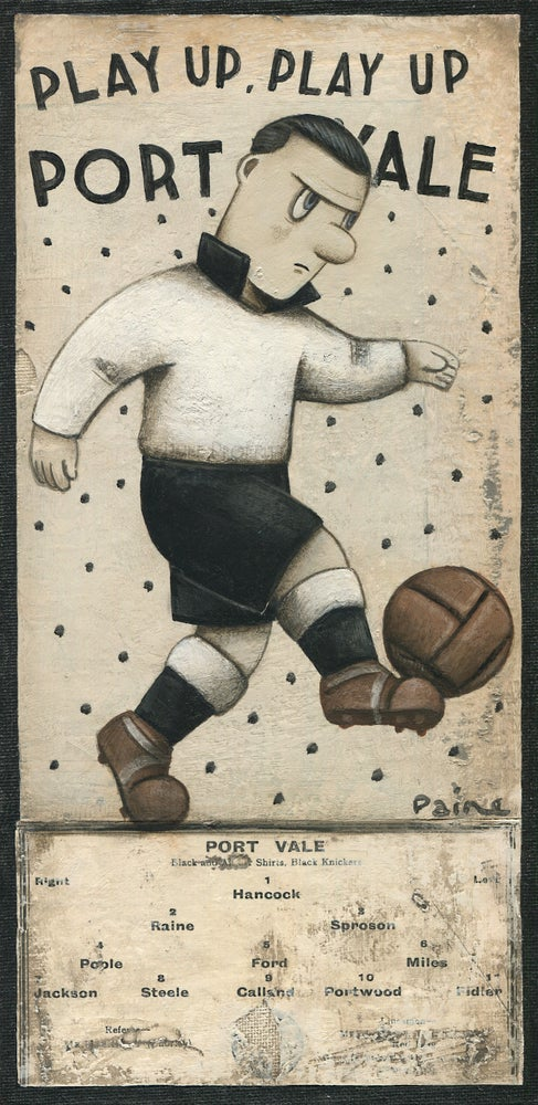 Image of Play Up Port Vale - Programme