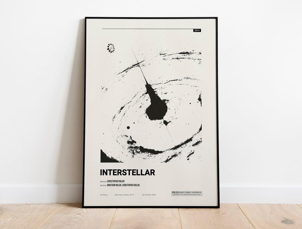 Interstellar - Christopher Nolan Movie Poster