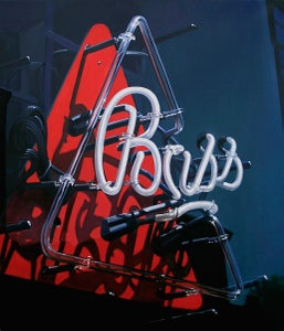 Image of Bass Ale, neon sign