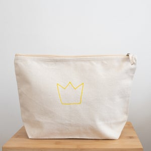Organic Cotton Large Accessory Bag