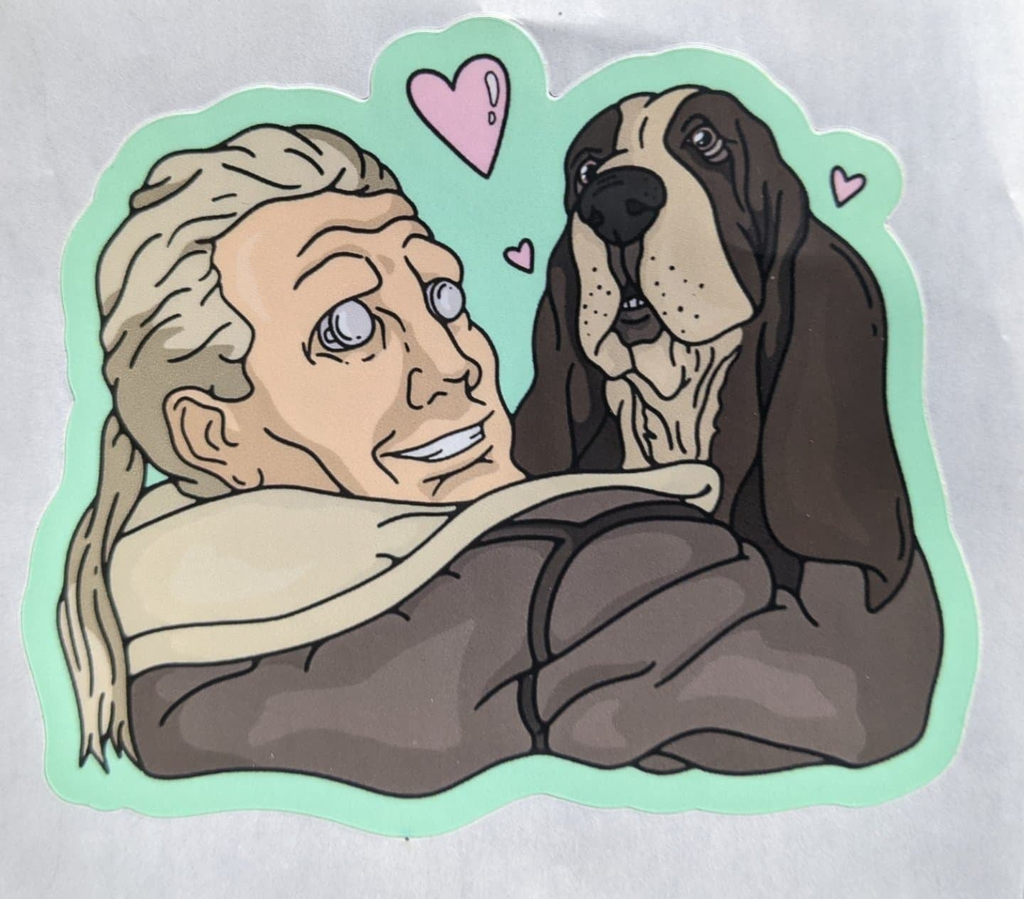 Image of Dog Daddy Batou Stickers