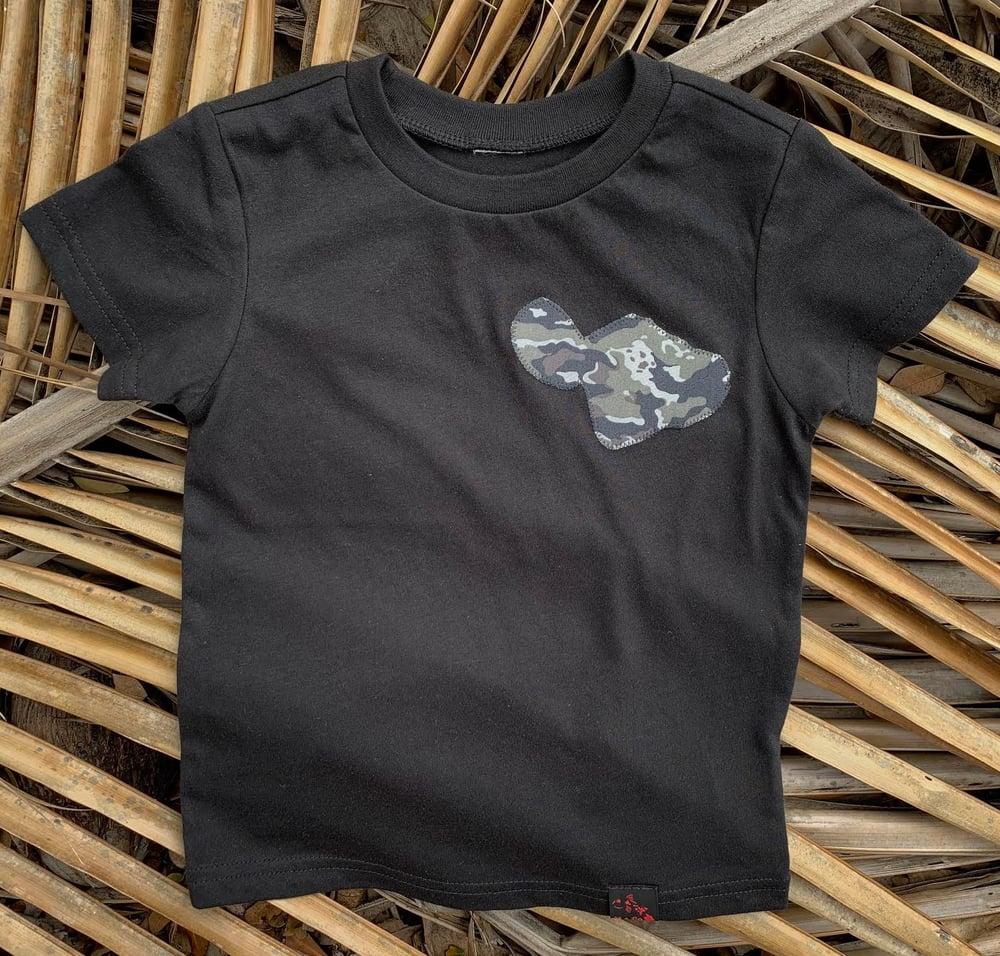Image of Small Camo Gray Maui Tee