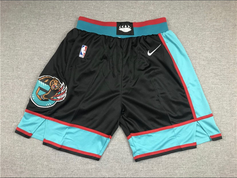 Image of Memphis grizzlies style shorts