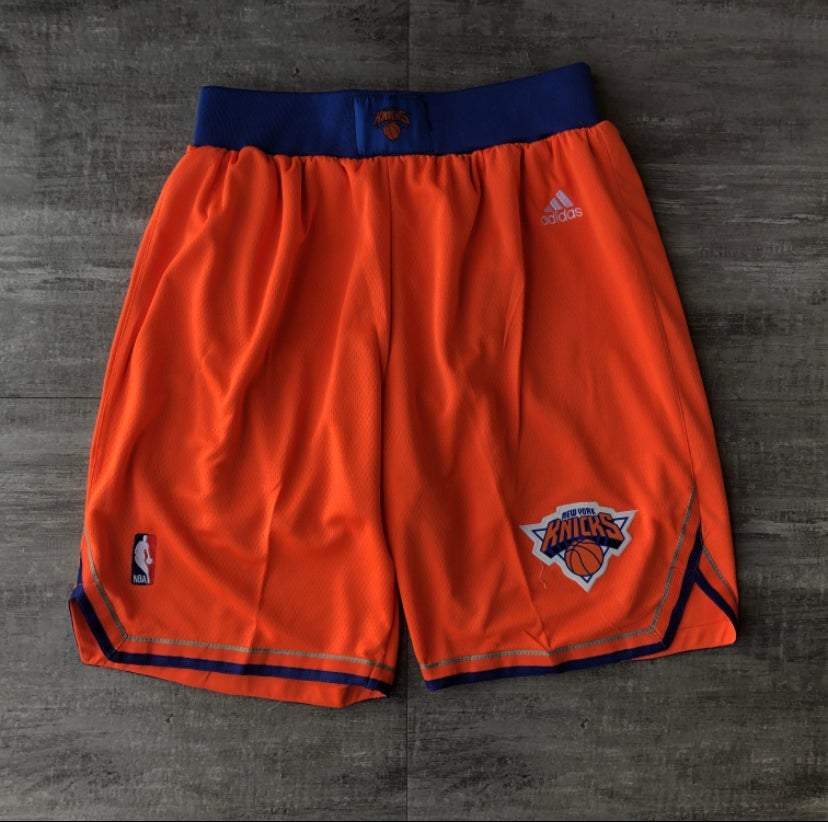 Image of New York Knick style shorts