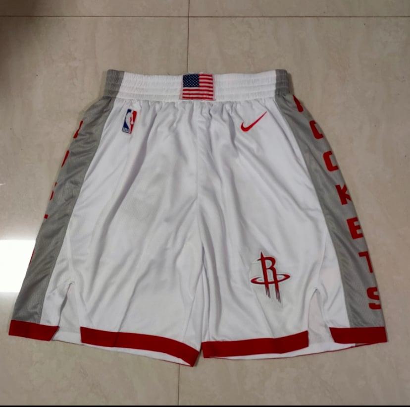 Image of Houston rockets style shorts