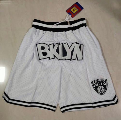 Image of Brooklyn nets style shorts