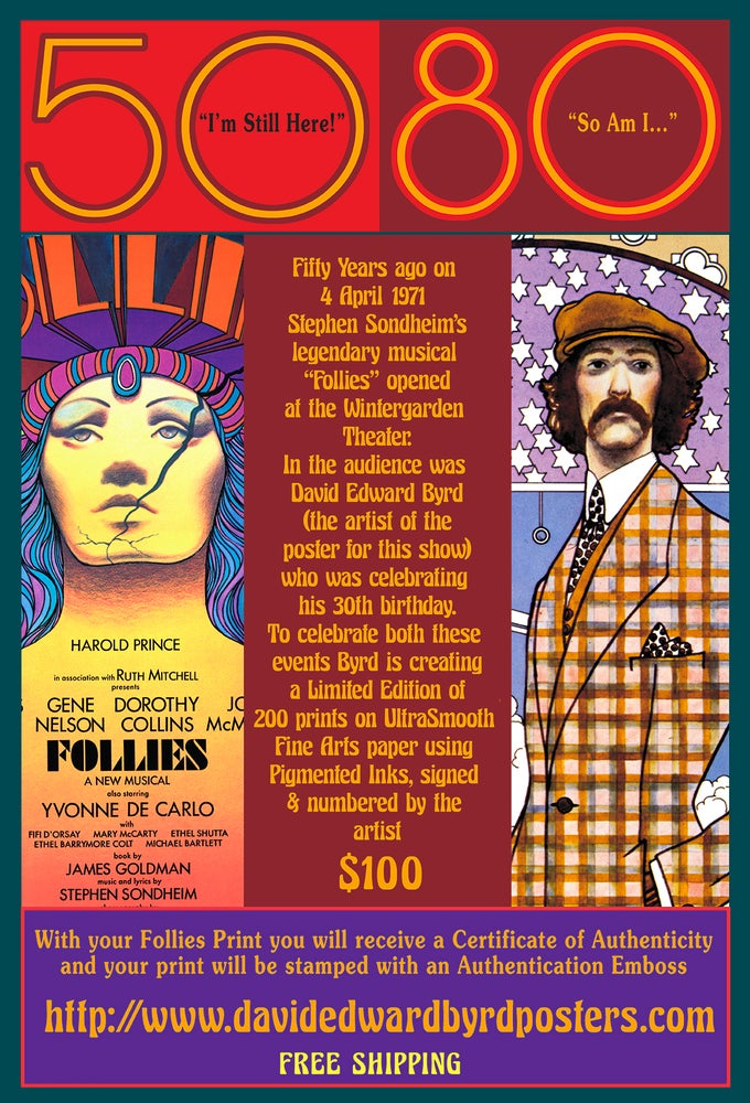 Image of CELEBRATING FOLLIES 50th and BYRD 80th