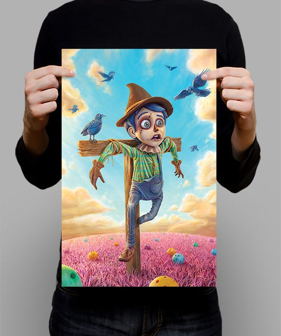 """Image of SIGNED Poster - The Scarecrow - 11"""" X 17"""""""