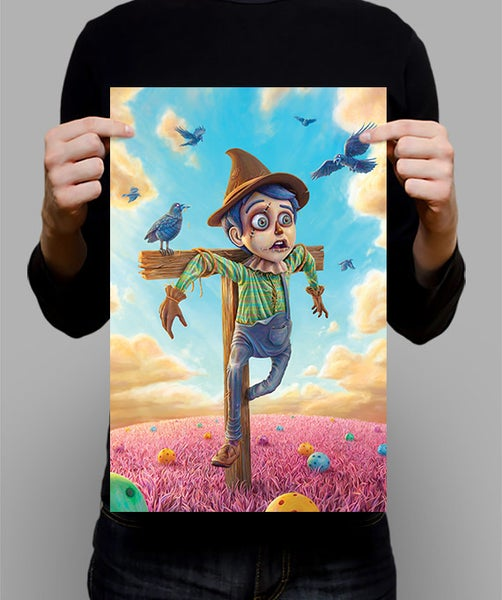 "Image of SIGNED Poster - The Scarecrow - 11"" X 17"""