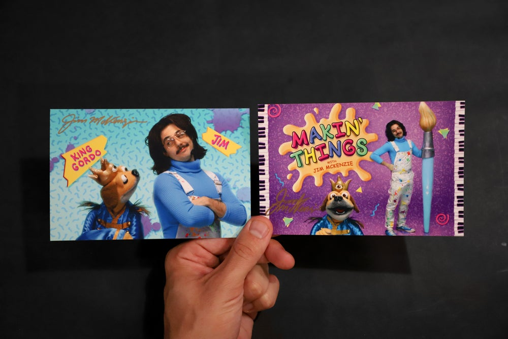 """Image of SIGNED Postcard Set - """"Makin' Things With Jim McKenzie"""""""