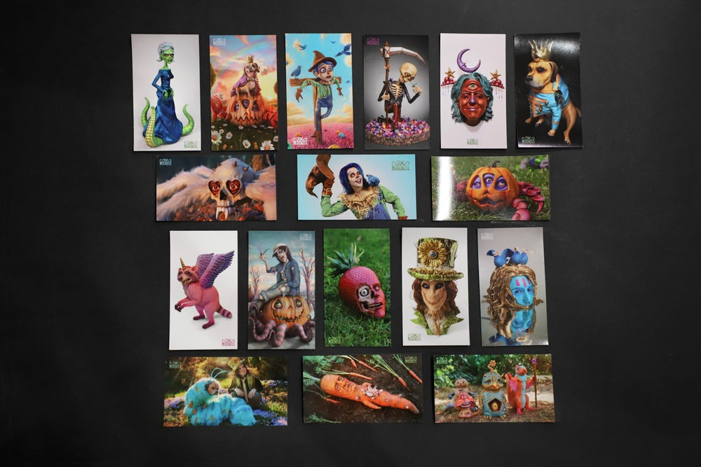 Image of MAGNET COLLECTION - 17 Art Magnets - Limited Edition of 100