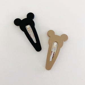 Image of Mickey Snap Clips - Set of 2