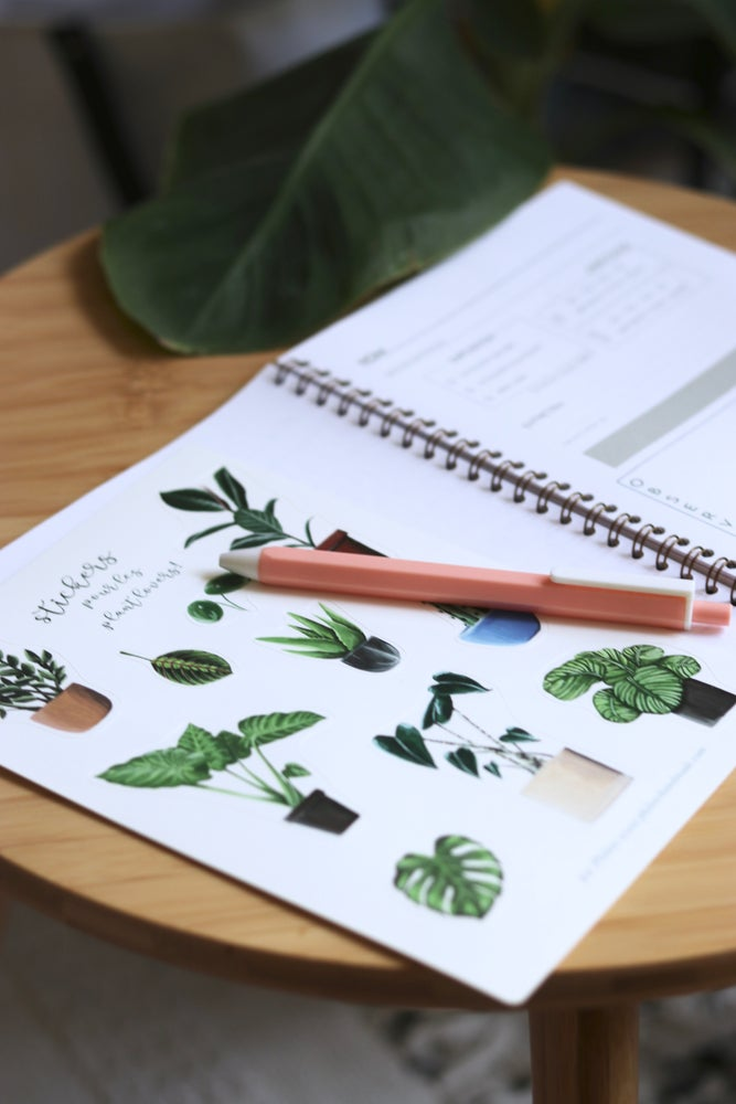 Image of Planche stickers PLANT LOVERS