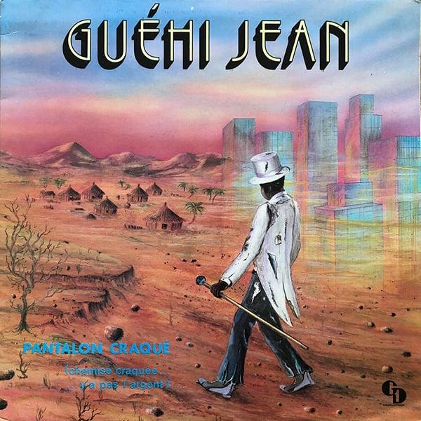 Guéhi Jean - Pantalon Craqué (Private - mid 80's)