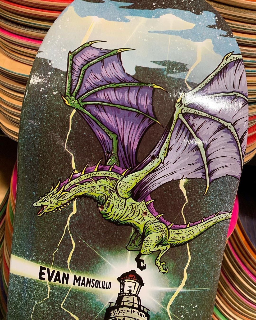Image of Evan Mansollilo Dragon