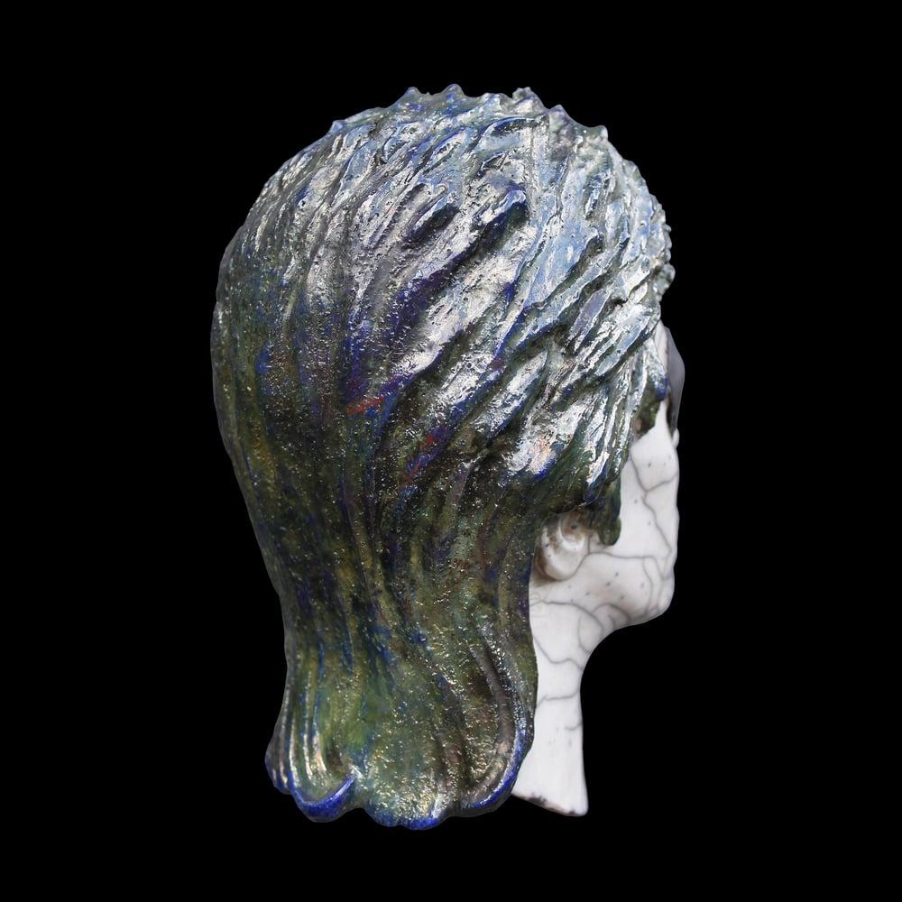 Halloween Jack Raku (Full Head Sculpture)