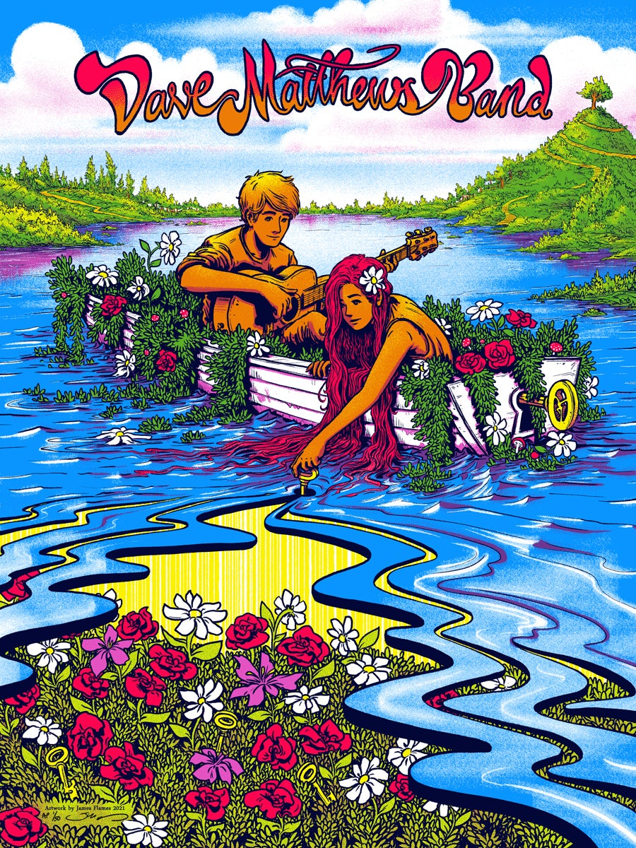 """Image of Dave Matthews Band - """"Everyday"""" Poster"""