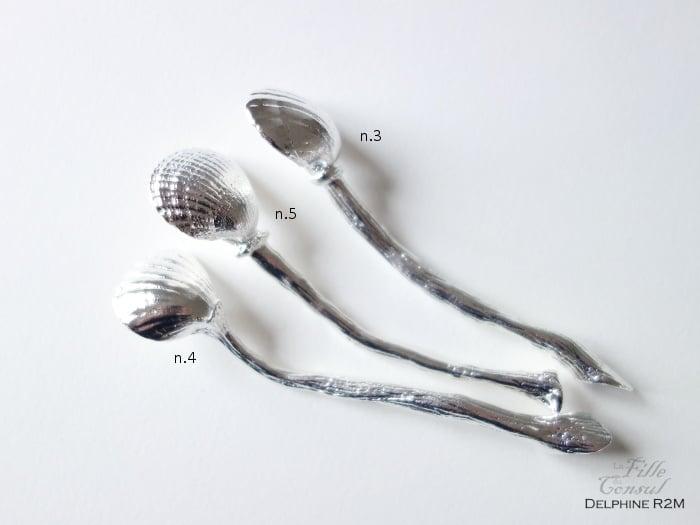 Image of Précieuses cuillères n.3, 4 et 5