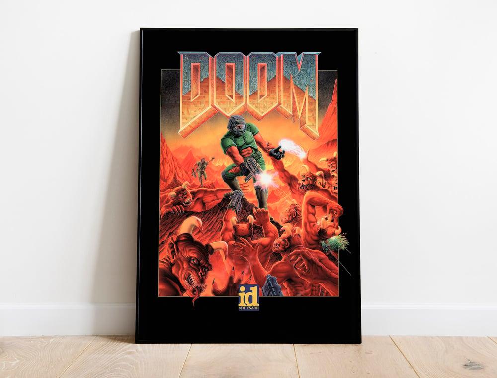 Doom 1993 Original Game Poster, Doomguy Wallpaper