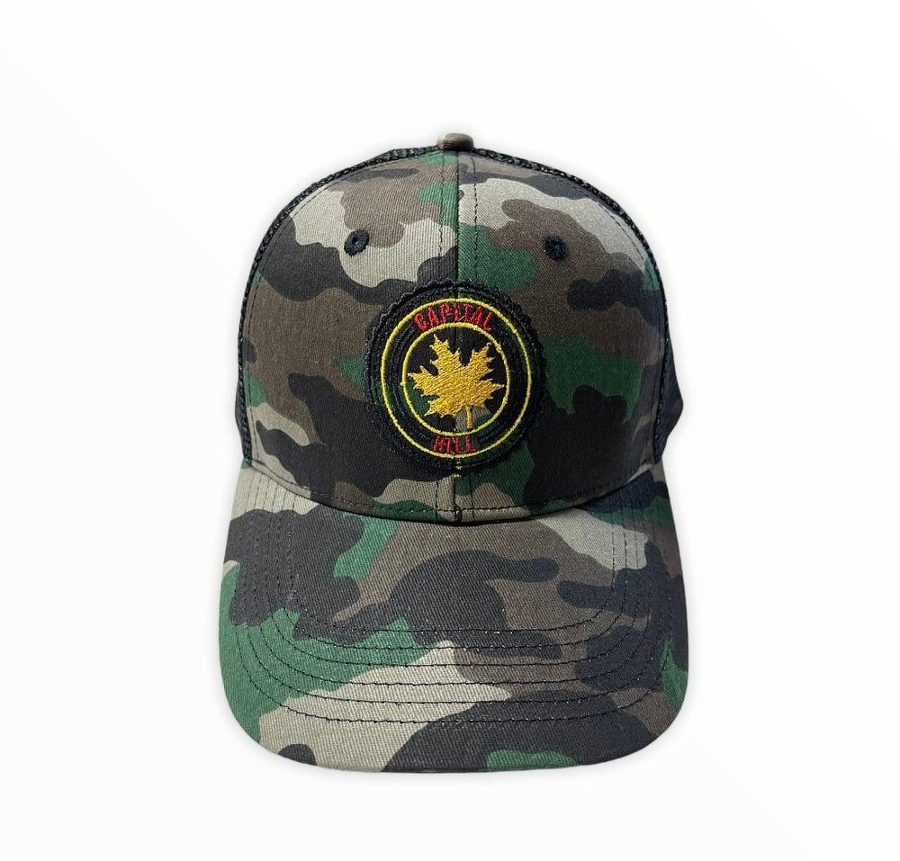Image of Camo Trucker Mesh Hat