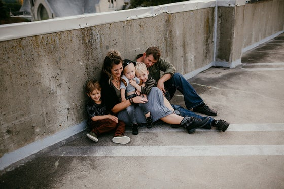 Image of Sunset Family Session