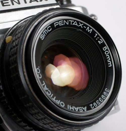 Image of Pentax K1000 35mm SLR Film Camera with 50mm F2 Lens (TESTED-GUARANTEED)