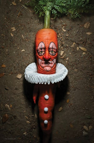 """Image of SIGNED Poster - Clown Carrot 11"""" X 17"""""""