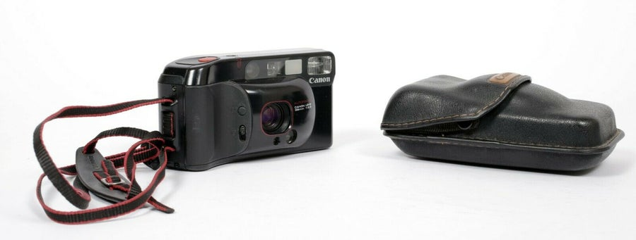 Image of Canon Sure Shot Supreme 35mm camera with 38mm F2.8 lens