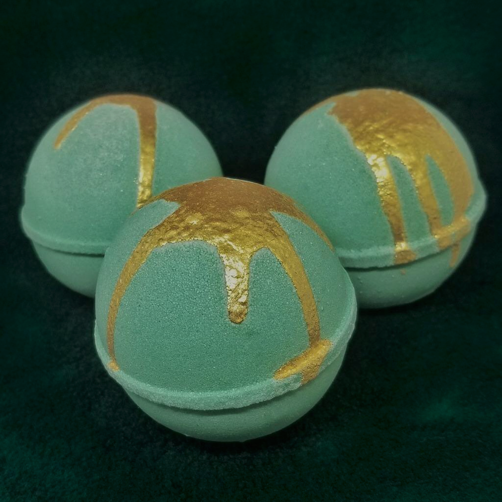 Image of Green Goddess Luxury Shea Butter Bomb
