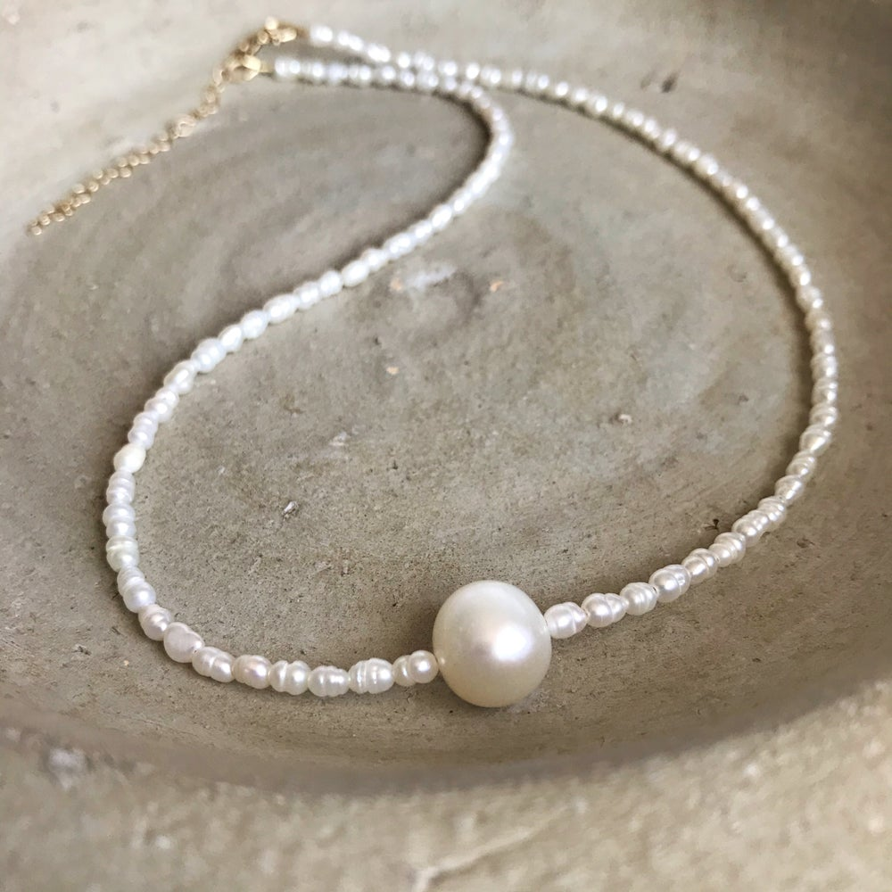 Image of Fresh Water Pearl Necklace