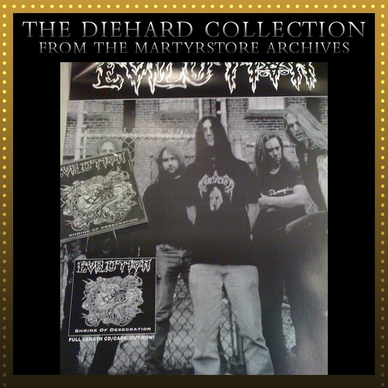 Image of EVILUTION Cassette/CD poster