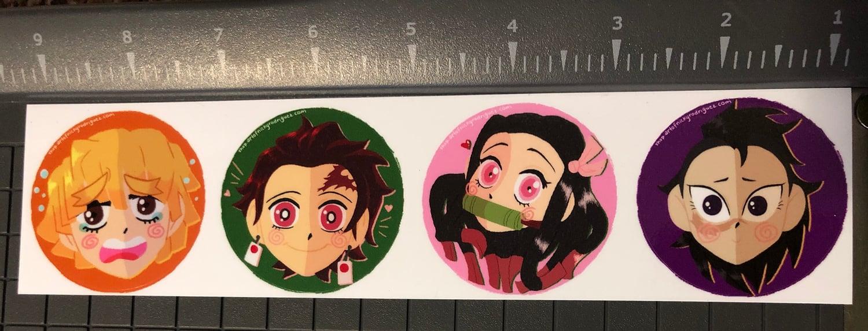 KNY sticker set
