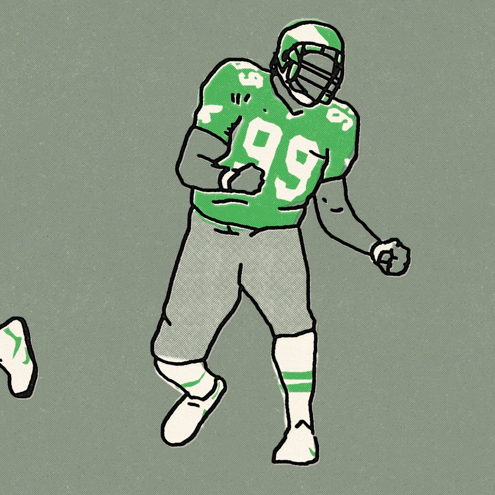 Image of Football Guys Art Print