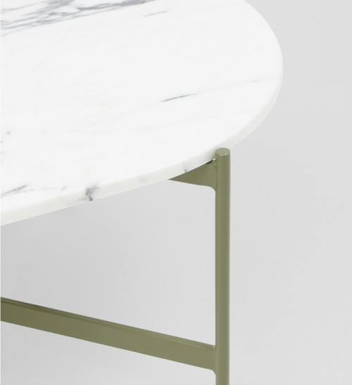 Image of Oval Marble Table Range