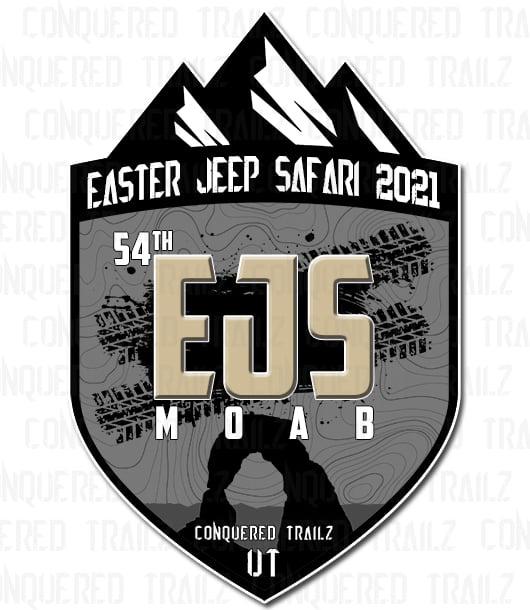 Image of Easter Jeep Safari 2021 - Event Badge
