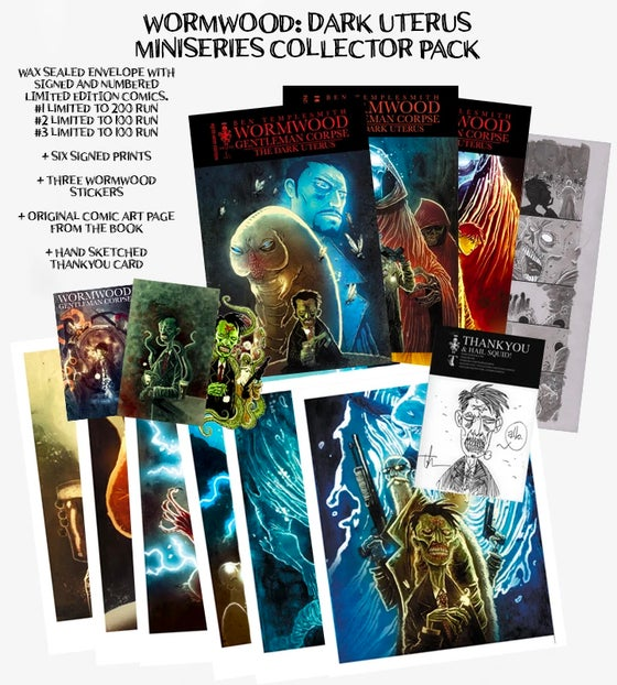 Image of WORMWOOD GENTLEMAN CORPSE: THE DARK UTERUS COLLECTORS PACK