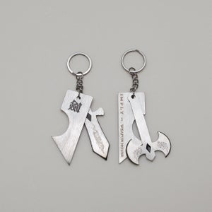 Image of IMPLY x WH - Axe Of Hephaestus Keychain